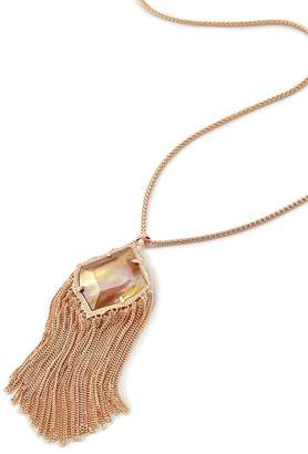 Kendra Scott Kingston Fringe Trim Pendant Necklace