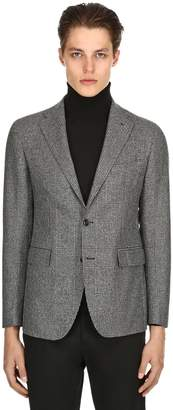 Tagliatore Wool Prince Of Wales Jacket