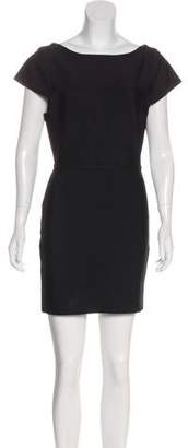 Herve Leger Short Sleeve Mini Dress