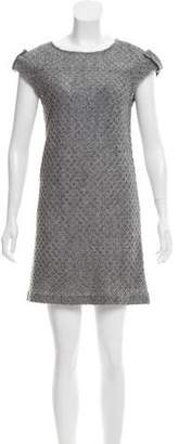 Cynthia Steffe Mini open-Knit Dress