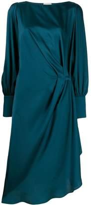 L'Autre Chose draped midi dress