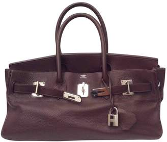 "Hermes ""Birkin"" leather handbag"