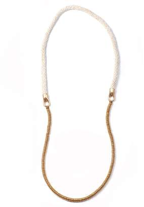 Lulu Frost George Frost 50/50 Necklace- Ivory