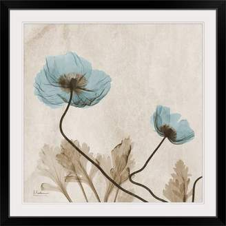 Great Big Canvas 'Poppy X-Ray by Albert Koetsier Photographic Print