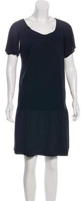 Fendi Short Sleeve Mini Dress