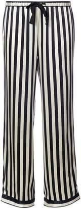 Morgan Lane striped pyjama pants