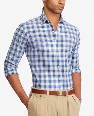 Polo Ralph Lauren Men's Big & Tall Classic Fit Plaid Shirt