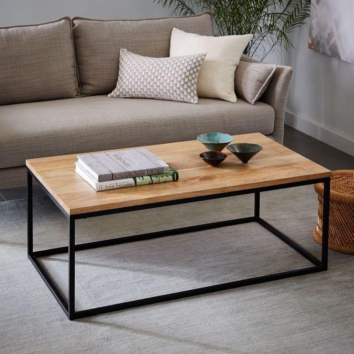 Box Frame Coffee Table - Raw Mango