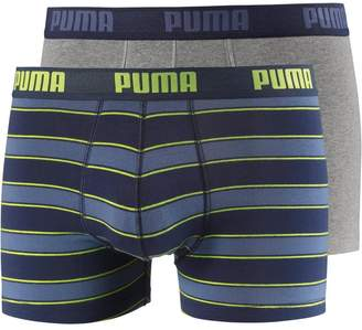 Puma 2-Pack Rugby Stripe Yarn-Dyed Men's Boxer Briefs