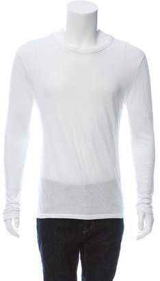 Alexander Wang Scoop Neck Long Sleeve T-Shirt