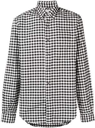 Aspesi gingham checked shirt