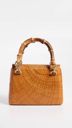 Serpui Marie Leona Round Matte Bag