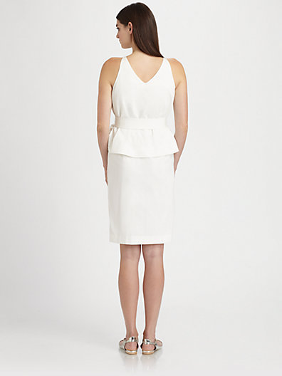 Chloé Peplum Dress