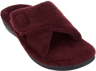 Vionic Adjustable Strap Slippers - Relax