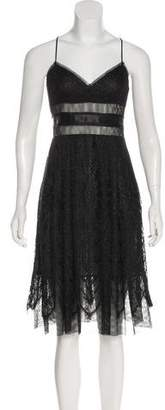 Anna Sui Sleeveless Midi Dress