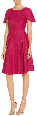 St. John Inlaid Sequin Knit Dress