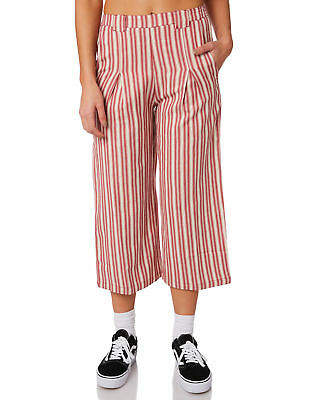 Volcom New Women's Pull Here Pant Cotton Fitted
