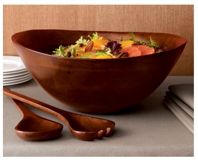 Flare Mango Wood Bowl/Servers
