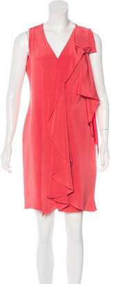 Oscar de la Renta Silk Sleeveless Dress