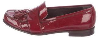 Lanvin Patent Leather Tassel Loafers