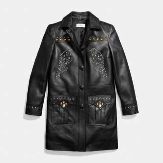 Coach Western Rivets Coat