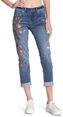 Juicy Couture Folklore Floral Embroidered Jeans