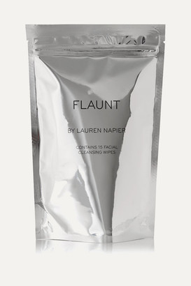 Ralph Lauren Cleanse by Napier - The Flaunt Package - Facial Cleansing Wipes X 15