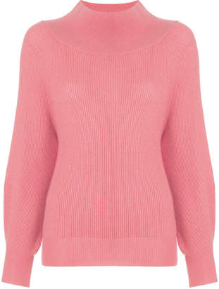 Ryan Roche oversized neck jumper