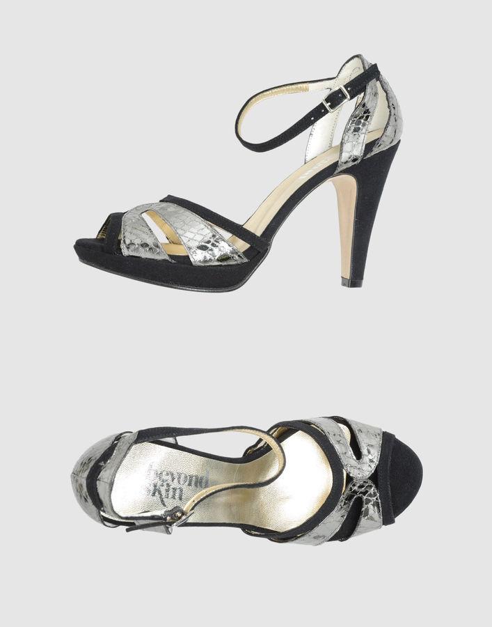 Beyond Skin Platform sandals