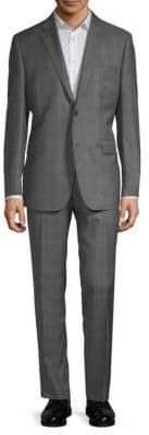 Windowpane Wool Suit