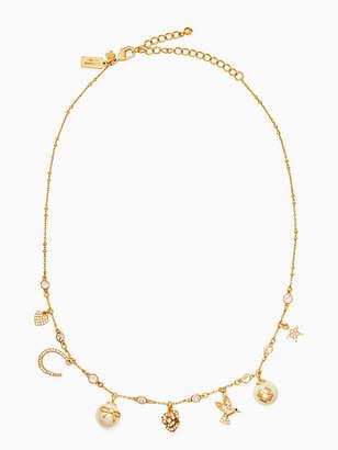 Kate Spade Grandmas closet charm necklace