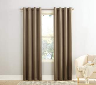 Sun Zero 48066 Barrow Energy Efficient Grommet Curtain Panel