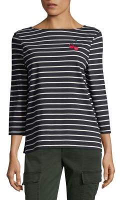 French Connection Cherry Love Stripe Tee