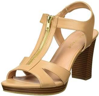 Rampage Women's Preeta Peep Toe Platform Heel Heeled Sandal