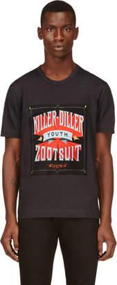 Juun.J Grey Killer Diller Print T-Shirt