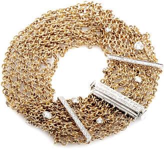 Damiani 18K Rose Gold 0.83 Ct. Tw. Diamond Bracelet