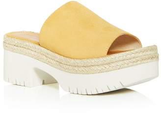 Aquatalia Women's Whitney Weatherproof Espadrille Platform Sandals