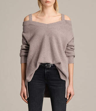 AllSaints Dasha V-Neck Sweater
