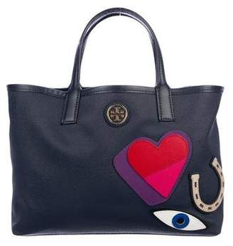 Tory Burch Canvas Lucky Tote