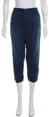 6397 Cropped Mid-Rise Jeans