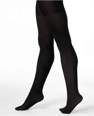 Spanx Women's Opaque Reversible Tummy Control Tights, also available in extended sizes