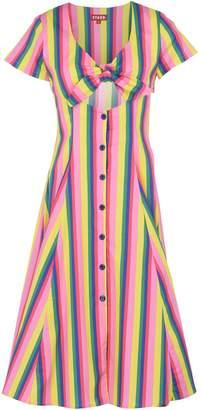 STAUD Knee-length dresses - Item 34868605CE