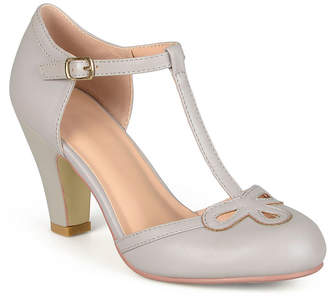 Journee Collection Womens Pumps Round Toe