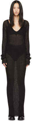 Ann Demeulemeester Black Ashgate Dress