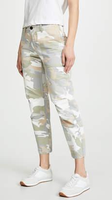 Zadig & Voltaire Camo Print Cargo Pants