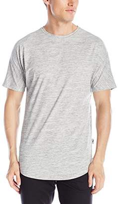 Publish Brand INC. Men's Short Sleeve Scallop Crew Neck T-Shirt