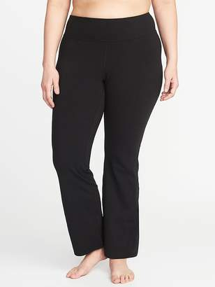 Old Navy High-Rise Plus-Size Boot-Cut Yoga Pants
