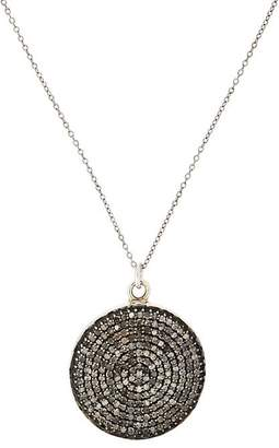 Feathered Soul Women's Sterling Silver & Diamond Pendant Necklace
