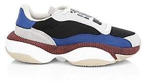 Puma Men's Alteration Kurve Leather Colorblock Sneakers