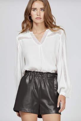 Greylin Gwen Vegan Leather Shorts
